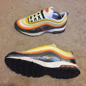 Rare 2007 Nike Air Max 97 Zen Orange Womens Sz 10